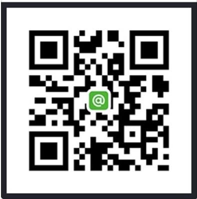 友たち登録QRコード